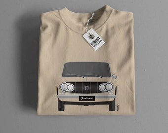 T-shirt Lancia Fulvia Berlina | Gent, Lady and Kids | all the sizes | worldwide shipments | Car Auto Voiture