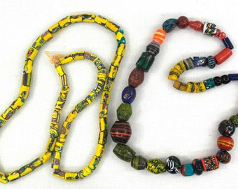 2 StringsOf African Trade Beads
