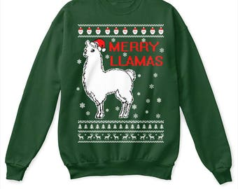 Christmas llama | Etsy