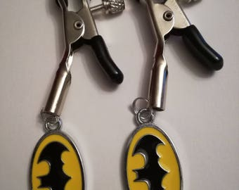 Batman Nipple Clamps