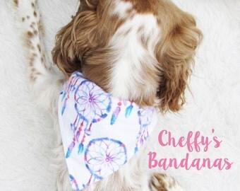 Dreamcatcher Dog Collar Bandana