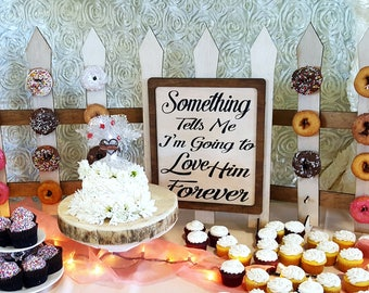 Donut Display Fence Customizable Dessert Cupcake Stand