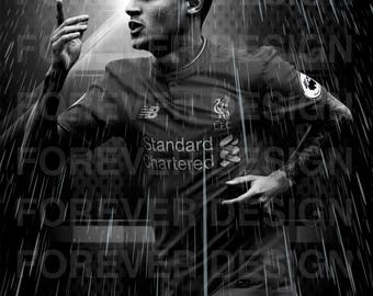 Philippe coutinho poster A3 own desighn
