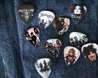 Motley Crüe Guitar Pick Pins
