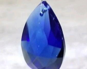 Blue Crystal Sun Catcher