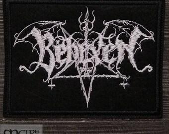 Patch Bexehen logo black metal band.