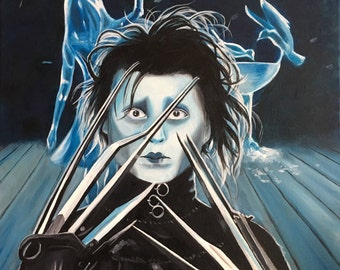 Edward Scissorhands Portrait