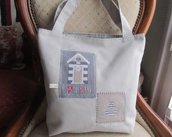 Bag for summer, nautical theme