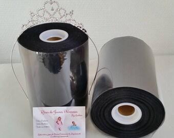 Roll of black tulle, good quality nylon making dresses, skirts, tutus