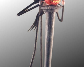 "JACK SKELLINGTON Statuette from Tim Burton's ""the nightmare before Christmas of Mr Jack"" (5 model)"