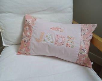 """Princess Jade"" personalised cushion"
