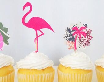 Tropical Cupcake Topper