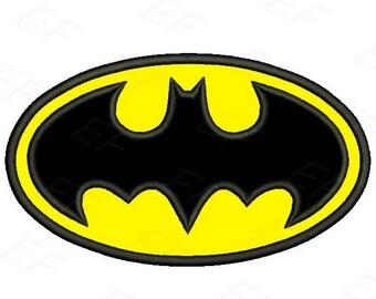 Batman applique design - instant download digital file