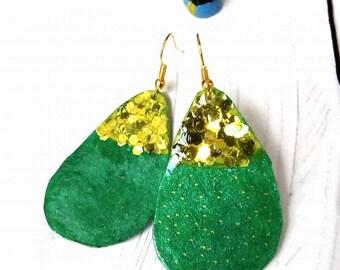 prickly pear earrings 1/earrings