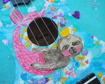 Mermaids custom ukulele