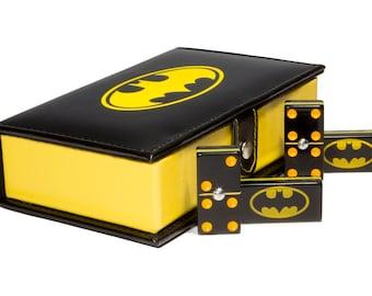 Batman Domino 100% Acrylic, Faux Leather Case