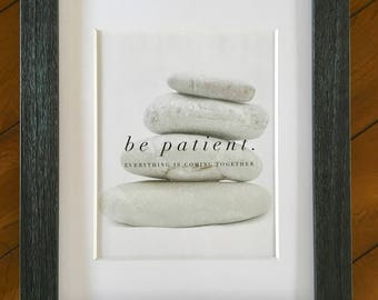 Zen quote art, PRINTABLE, inspirational quotes, mindful quotes, motivational quotes, quote poster, digital download *PRINTABLE ONLY