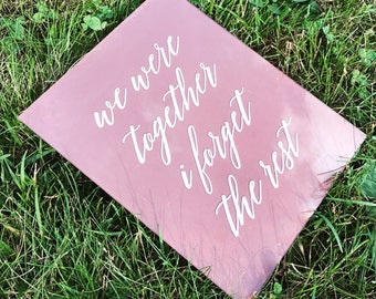 Love Quote Sign