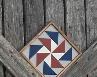 Flying Geese Mini Barn Quilt