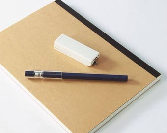 Kraft Notebook   A5   Sketchbook   Journal   Kraft Journal   Kraft Sketchbook