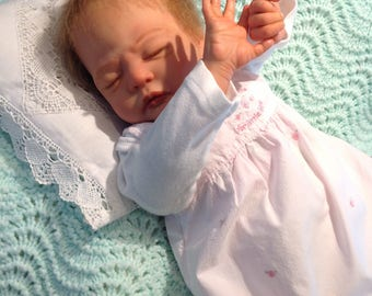Reborn Baby Girl AMELIA, Very Rare, Sculpted By Laura Lee Eagles, COA included