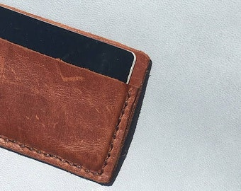 Simple Leather Card Holder