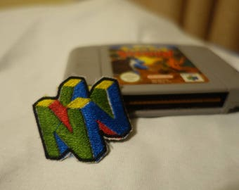 Nintendo 64 Logo Embroidered Patch