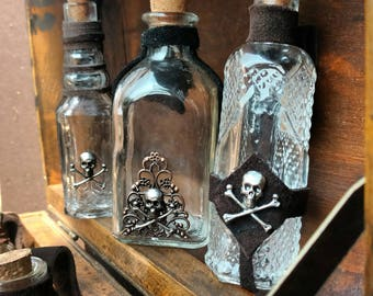 Pirate Poison Bottles with Belt Loops