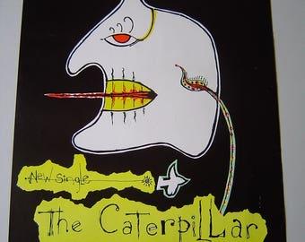 The Cure The Caterpiller  1984  Original Rare Uk Poster