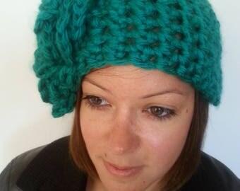 Hot 100% handmade hooky crochet hat