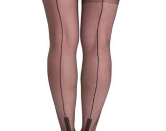 Premier Hosiery Fully Fashioned Cuban Heel Stockings ( FFC )