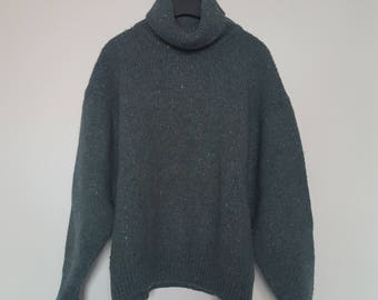 Oversized Paul Smith Turtleneck knitted sweater