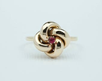 Antique Knot Ring 10k