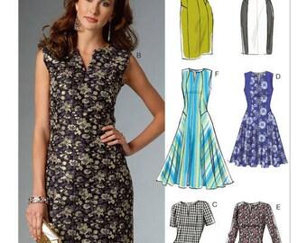 V9050 Vogue dress sewing pattern