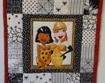 Quilted Wall Hanging - Bee Happy Ladies