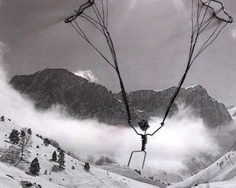 Paragliding wire iron - on order