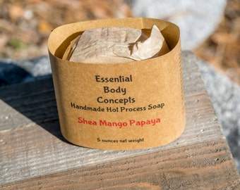 Shea Mango Papaya Soap 5 oz
