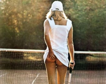 Classic Athena Poster Tennis Girl - Framed Picture
