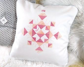 Geometric pattern - Royal cushion