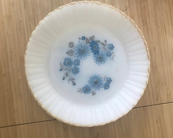 Termocrisa Milk Glass Plates