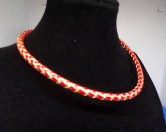 Crew neck cord