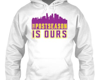 Minnesota Vikings Post Season is Ours Playoffs Hoodie