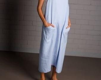 Linen apron - Apron - Kitchen apron - Handmade linen apron