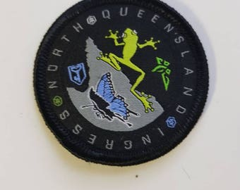 Ingress North Queensland Cross Faction Iron-On Patch