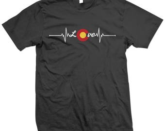 Colorado Love Life Line T-Shirt