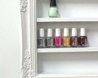Luxe Nail Polish Display Organizer - Nail Polish Rack - Nail Polish Display - Nail Salon - Beauty Room