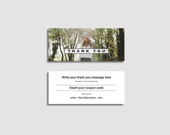 COUPON CARD TEMPLATE - MiniCard, for makers