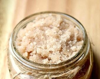 All natural organic sugar scrub
