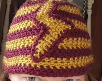 Harry Potter Inspired Crochet Hat