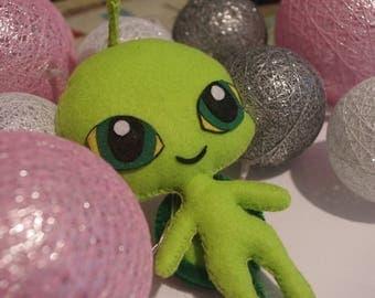 Plush Sam the turtle: Wayzz - felt, handmade